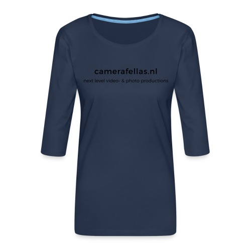 back 3 png - Vrouwen premium shirt 3/4-mouw