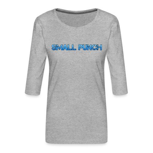 small punch merch - Women's Premium 3/4-Sleeve T-Shirt