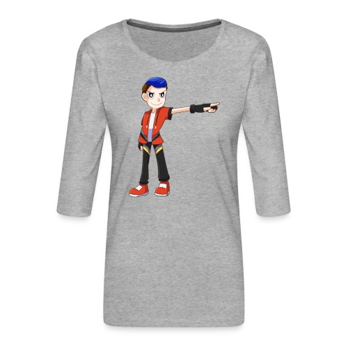 Terrpac - Women's Premium 3/4-Sleeve T-Shirt