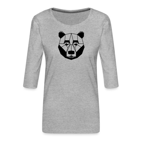 ours - T-shirt Premium manches 3/4 Femme