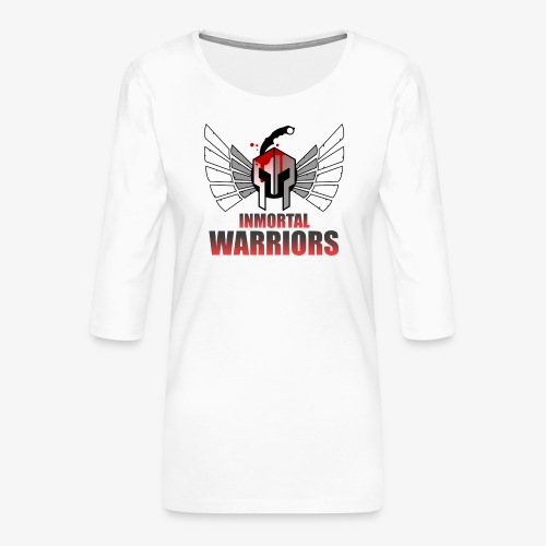 The Inmortal Warriors Team - Women's Premium 3/4-Sleeve T-Shirt