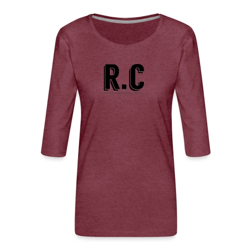 imageedit 1 3171559587 gif - Vrouwen premium shirt 3/4-mouw