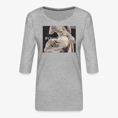 #OrgulloBarroco Proserpina - Camiseta premium de manga 3/4 para mujer