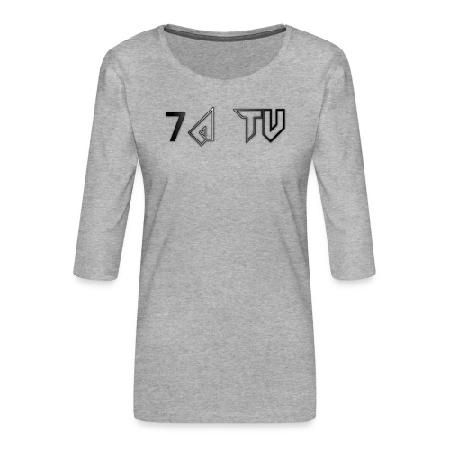 7A TV - Women's Premium 3/4-Sleeve T-Shirt