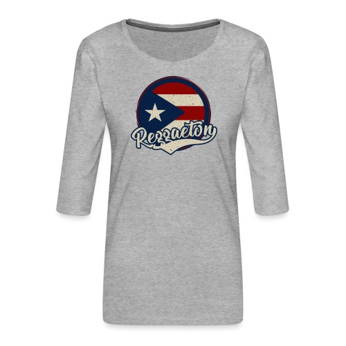 Reggaeton Music - Puerto Rico - Frauen Premium 3/4-Arm Shirt