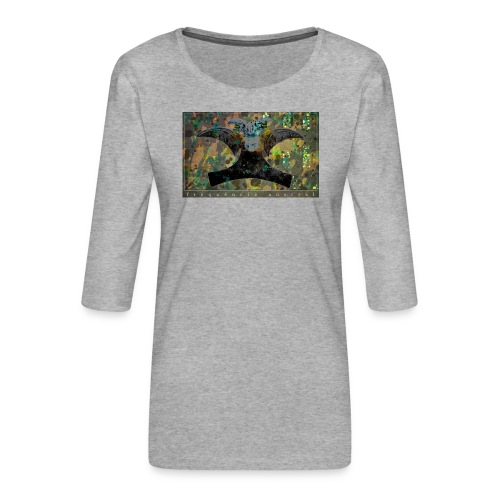 Blue Mojitos (jade) - Women's Premium 3/4-Sleeve T-Shirt