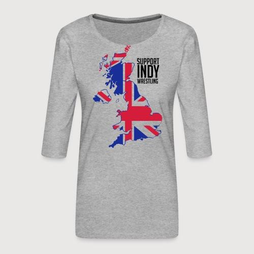 Indy Britain - Women's Premium 3/4-Sleeve T-Shirt