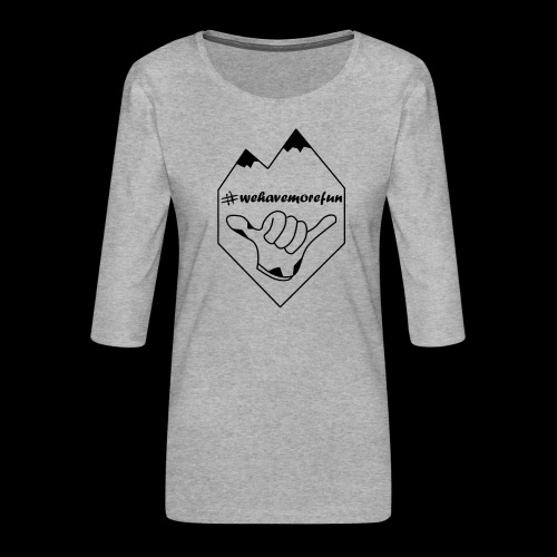 Madabe Logo Shirt 2 - Frauen Premium 3/4-Arm Shirt