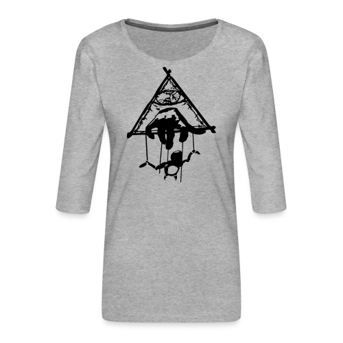 Killuminati Symbol - Frauen Premium 3/4-Arm Shirt