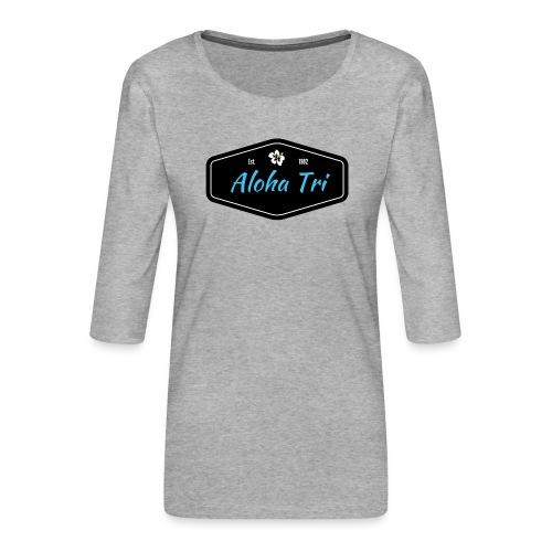 Aloha Tri Ltd. - Women's Premium 3/4-Sleeve T-Shirt