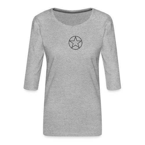Reices - Vrouwen premium shirt 3/4-mouw