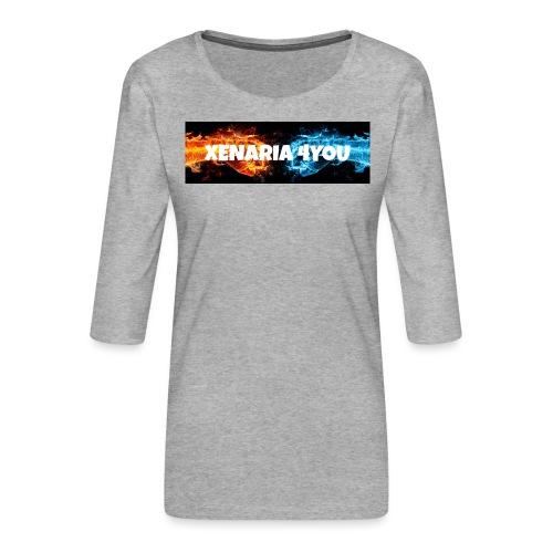 Kolekcja początkowa - Koszulka damska Premium z rękawem 3/4