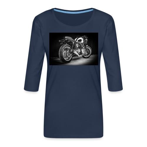 Monia's Thruxton 'Performance Scrambler' - Women's Premium 3/4-Sleeve T-Shirt