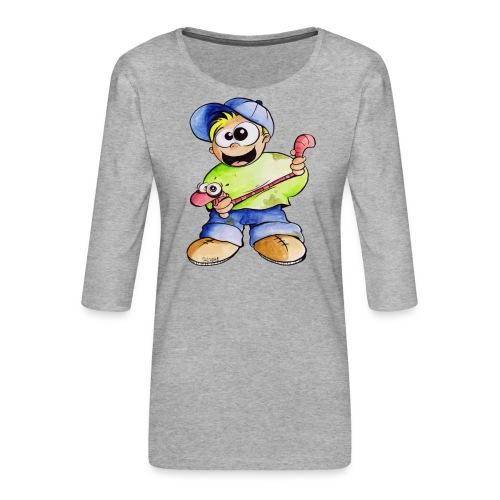Elastizitätstest - Frauen Premium 3/4-Arm Shirt