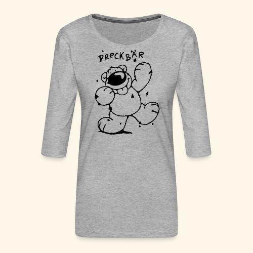 Dreckbär - Frauen Premium 3/4-Arm Shirt