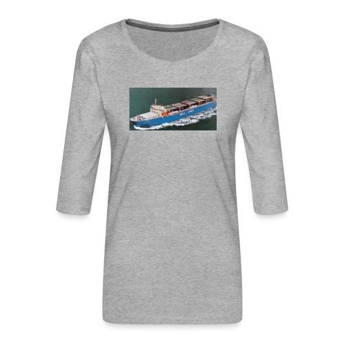 Bell Pioneer jpg - Vrouwen premium shirt 3/4-mouw
