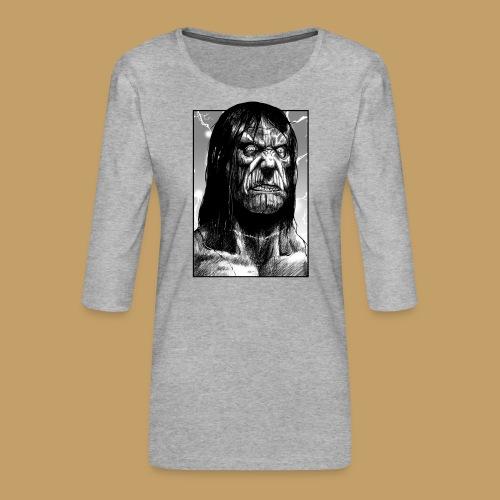 Frankenstein's Monster - Koszulka damska Premium z rękawem 3/4