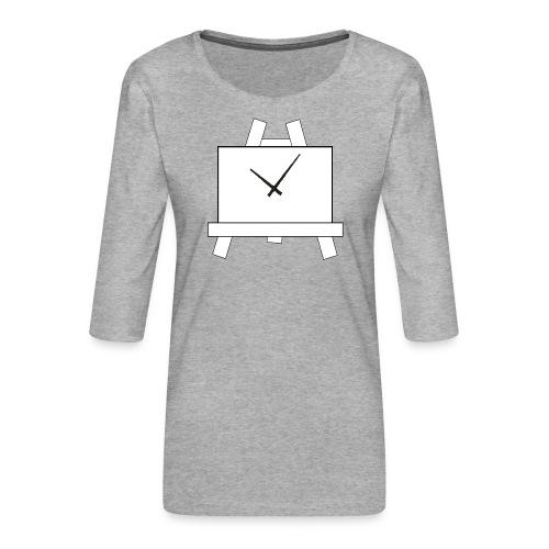 Time 4 Art - Vrouwen premium shirt 3/4-mouw