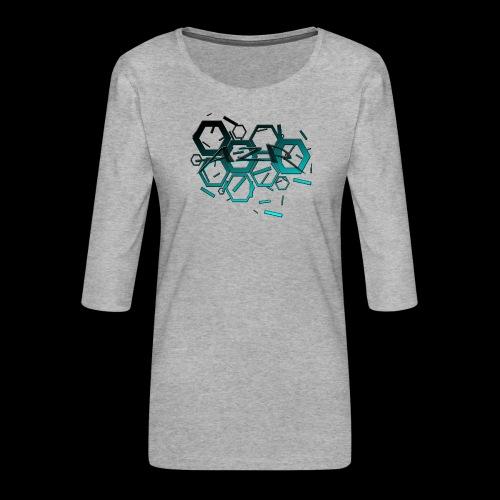 AZR - T-shirt Premium manches 3/4 Femme
