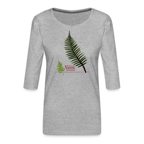 Polyblepharum - Vrouwen premium shirt 3/4-mouw