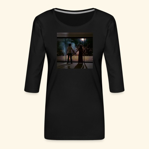 Mum look at me, I'm really okay. - T-shirt Premium manches 3/4 Femme
