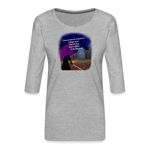 Bad Parking - Women's Premium 3/4-Sleeve T-Shirt