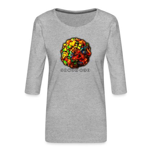 autos retro - Camiseta premium de manga 3/4 para mujer