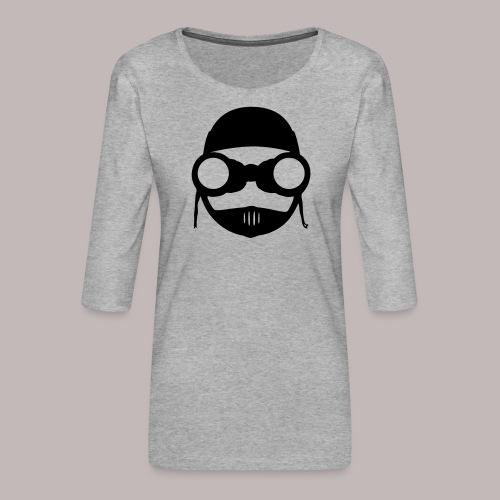 Peeper Biker - Frauen Premium 3/4-Arm Shirt