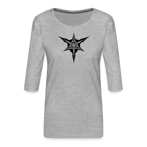Psybreaks visuel 1 - black color - T-shirt Premium manches 3/4 Femme