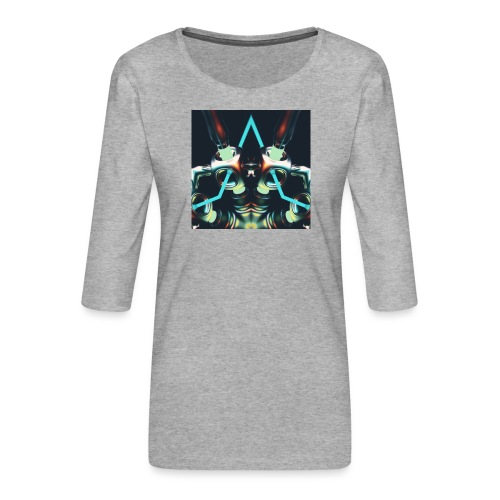 Energize Fields by RNZO - Vrouwen premium shirt 3/4-mouw