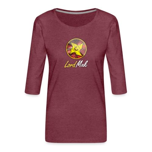 LordMuk shirt - Dame Premium shirt med 3/4-ærmer