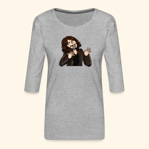 LEATHERJACKETGUY - Women's Premium 3/4-Sleeve T-Shirt