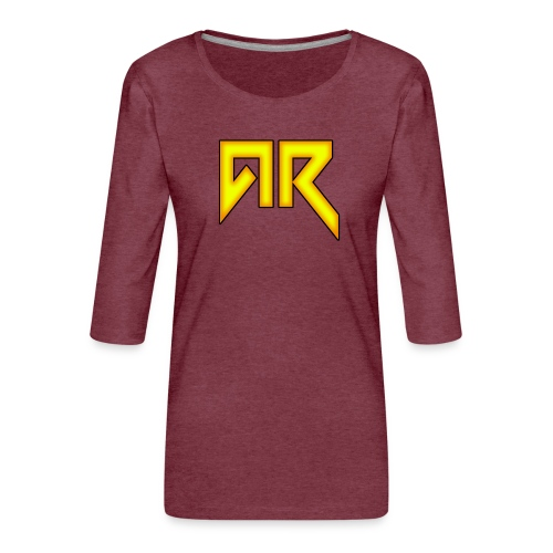 logo_trans_copy - Women's Premium 3/4-Sleeve T-Shirt