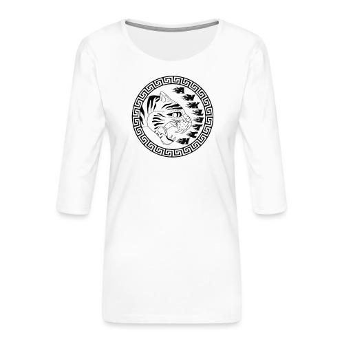 Anklitch - Vrouwen premium shirt 3/4-mouw