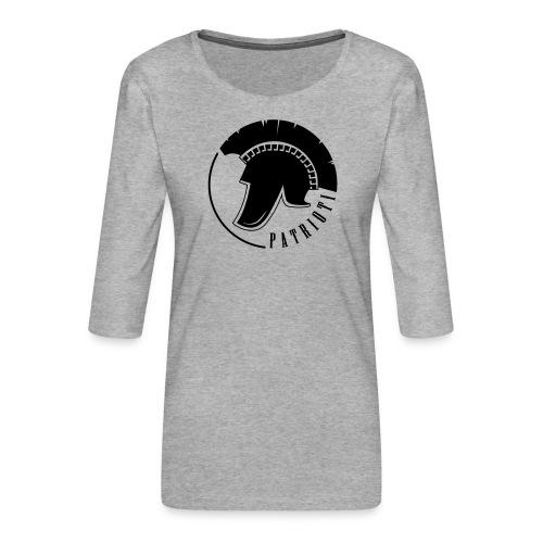 Illyrian warrior patrioti - Frauen Premium 3/4-Arm Shirt