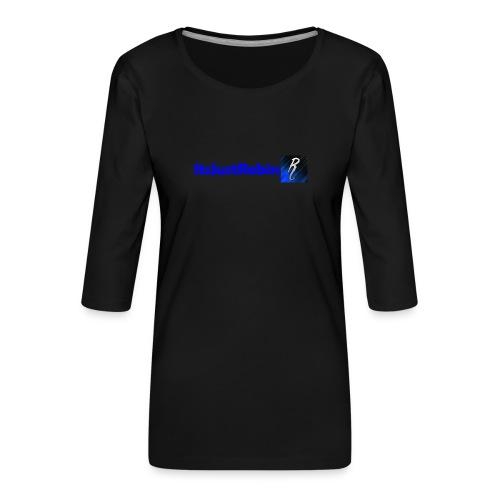 Eerste design. - Women's Premium 3/4-Sleeve T-Shirt