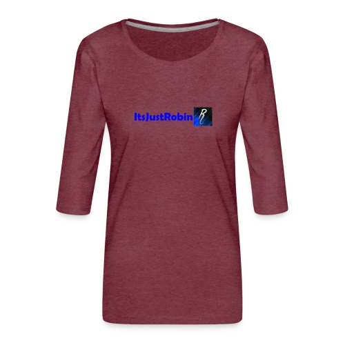 Eerste design. - Women's Premium 3/4-Sleeve T-Shirt
