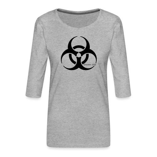Biohazard - Shelter 142 - Frauen Premium 3/4-Arm Shirt
