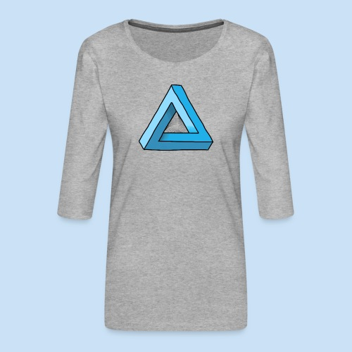 Triangular - Frauen Premium 3/4-Arm Shirt