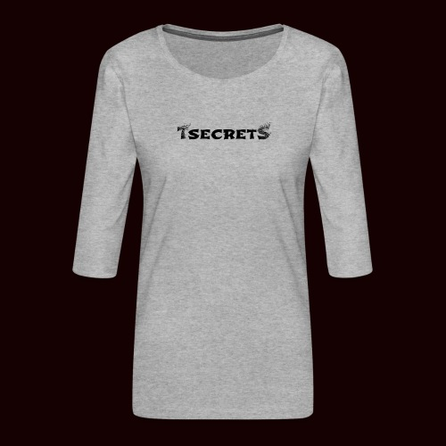 TsecretS - Frauen Premium 3/4-Arm Shirt
