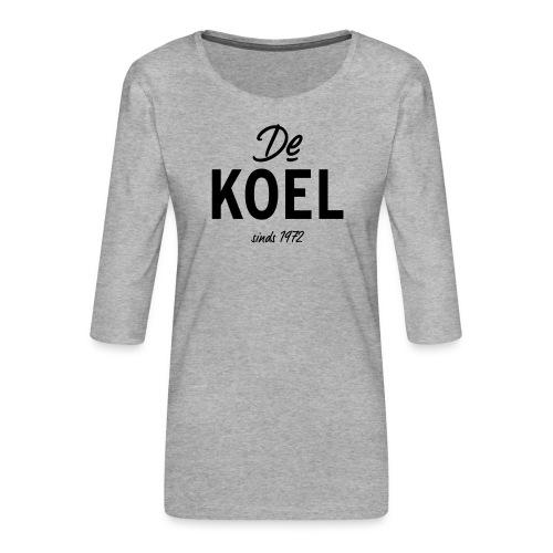 De Koel - Frauen Premium 3/4-Arm Shirt