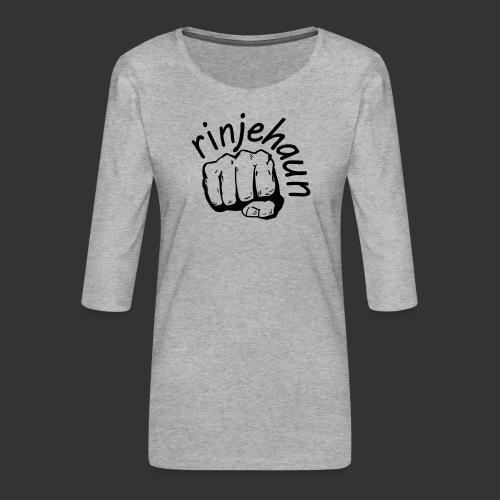 rinjehaun - Frauen Premium 3/4-Arm Shirt