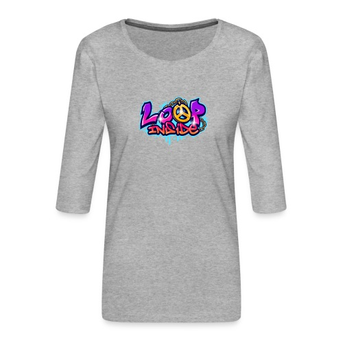 Loop Inside 3 - Frauen Premium 3/4-Arm Shirt