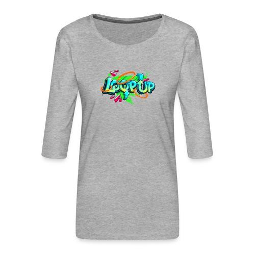 Loop up 4 - Frauen Premium 3/4-Arm Shirt
