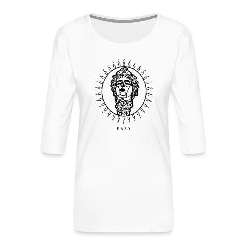 MEDUSA - Maglietta da donna premium con manica a 3/4