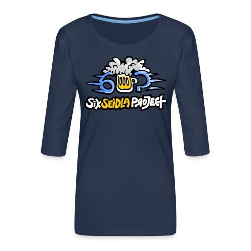 SixSeidlaProject Normal - Frauen Premium 3/4-Arm Shirt