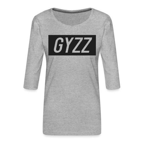 Gyzz - Dame Premium shirt med 3/4-ærmer