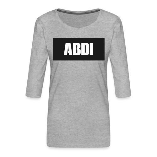 Abdi - Women's Premium 3/4-Sleeve T-Shirt