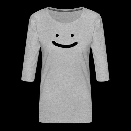 Smile - Koszulka damska Premium z rękawem 3/4