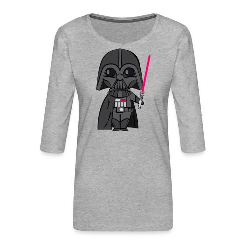 Darth Vader - T-shirt Premium manches 3/4 Femme